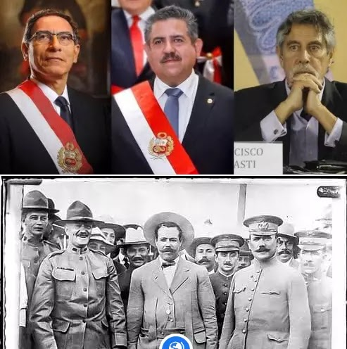 The Miracle Election History of the North American country of Mexico and the South American country of Peru