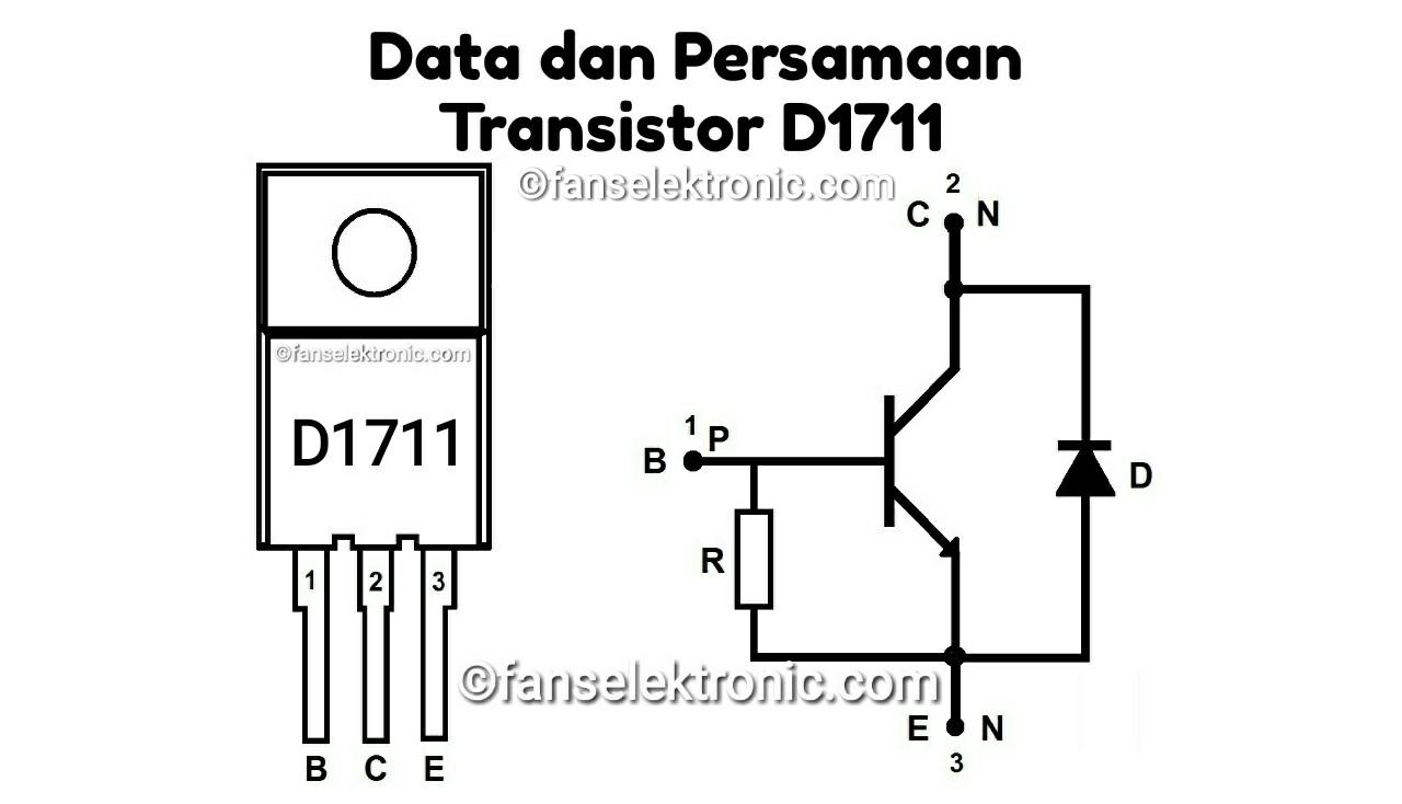 Persamaan Transistor D1711