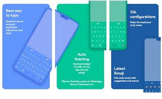 daftar aplikasi papan ketik ( keyboard ) Android terbaik