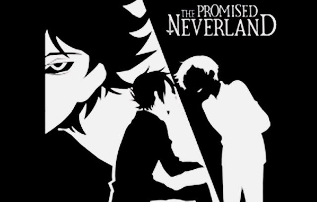 Imagem de divulgação do anime Yakusoku no Nerverland.