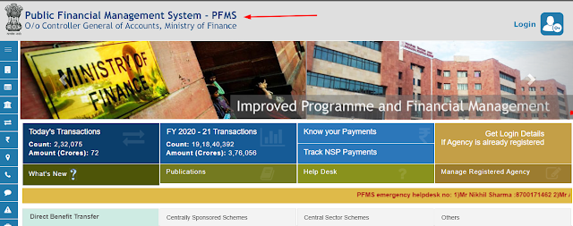 PFMS-full-form-hindi