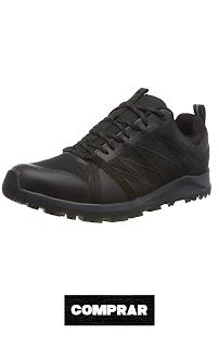Zapatillas de Senderismo para Hombre color negro The North Face M LW Fp II GTX