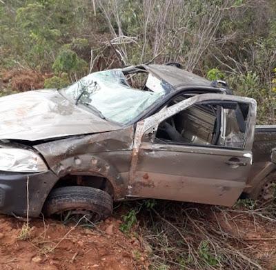 Piatã/BA: Acidente na BA-148  (próximo ao rela) faz vitima fatal
