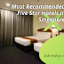 Pan Pacific Singapore as One of the Most Recommended Five Star Hotels