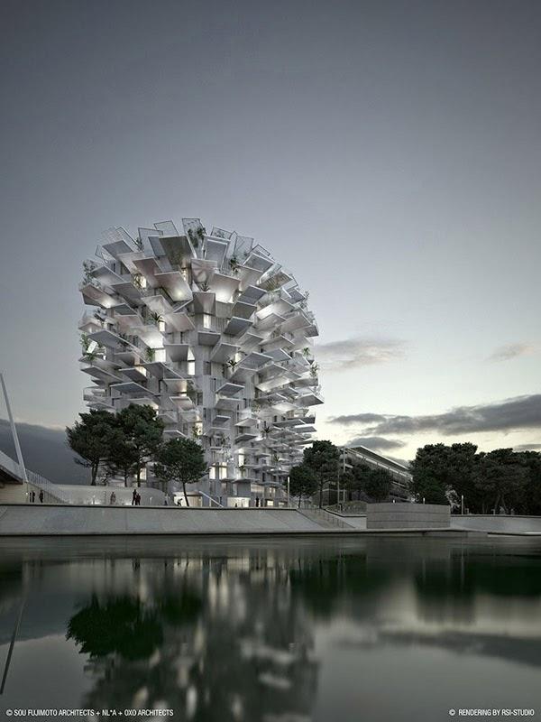 Impresionantes edificios