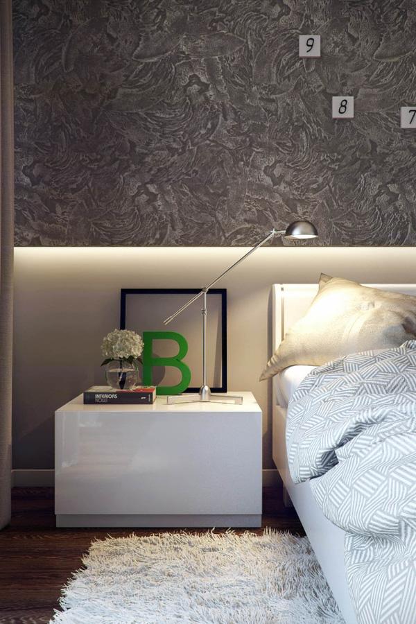Mẫu thiết kế căn hộ 51m2 đẹp phong cách hiện đại - H5