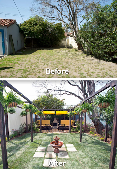 Before After Backyard Renovation Ideas Pictures 5