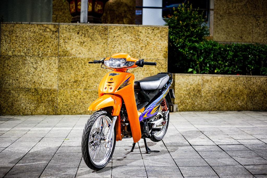 Honda Wave biển tứ quý 7 làm mới với gói độ 300 triệu