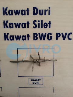 Jual Kawat Duri (Barbed Wire) Harga Pabrik