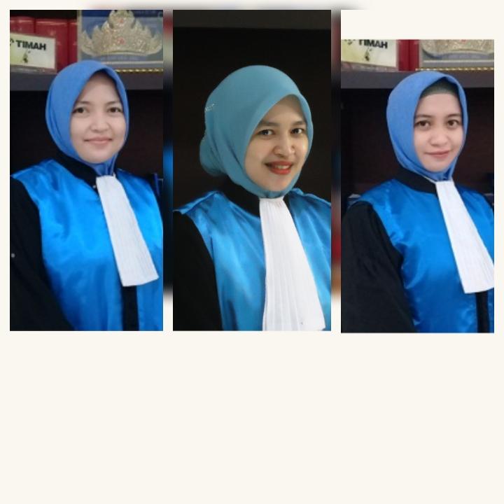 Fhoto Hakim PTUN Palembang SumSel.