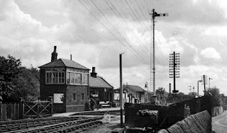 Bromley Cross Station in 1963
