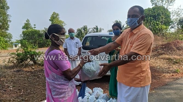 Kerala, News, Vegetable Kit and Masks Distributed by JCI Kasargod