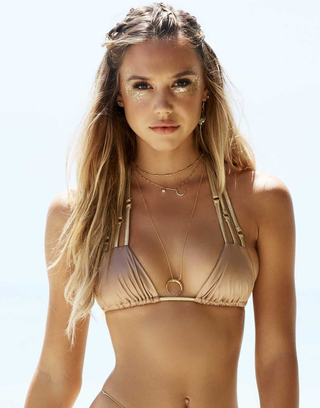 Alexis Ren stars in the Beach Bunny Swimwear Lookbook 2017