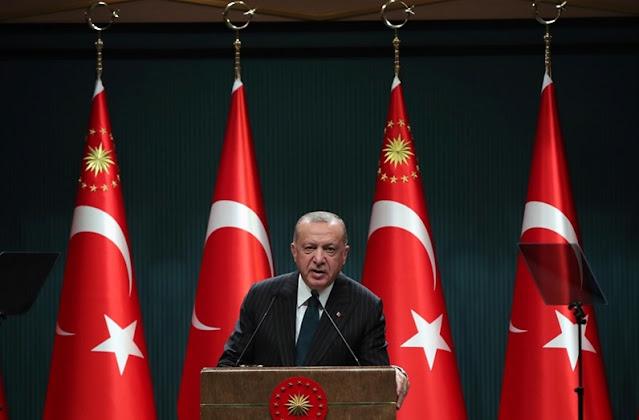 Πλήρη στήριξη στο Αζερμπαϊτζάν από τον Ερντογάν