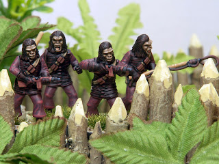 John Lambshead's Planet of the Apes diorama