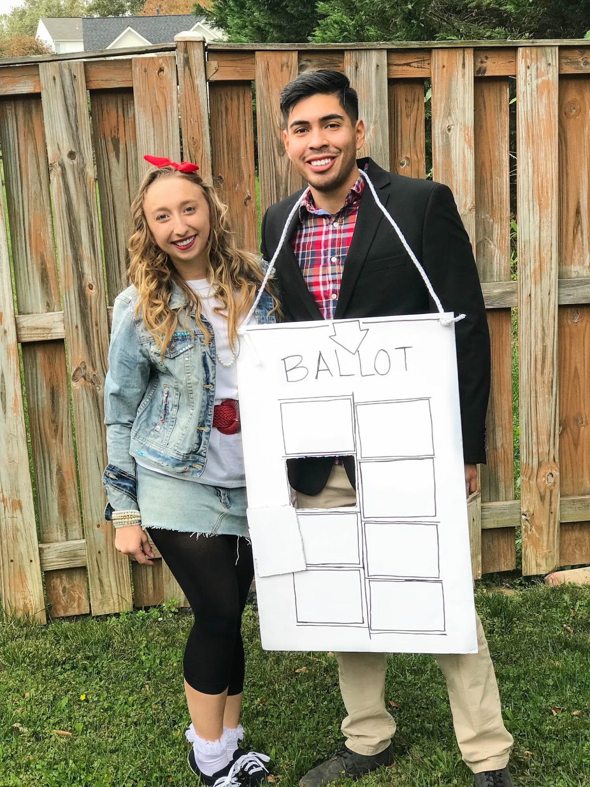Our $50 Couples Costume
