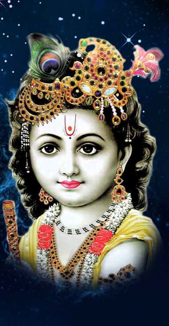 Lord Krishna HD Wallpapers For Smartphones