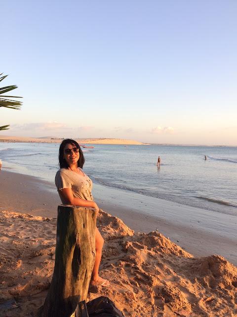 Diário de Viagem-Lagoa Paraíso em Jericoacoara