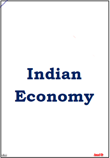 Indian Economy By Anand Sir : For UPSC Exam PDF Book