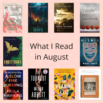 August Book Reviews from Beth Fish Reads