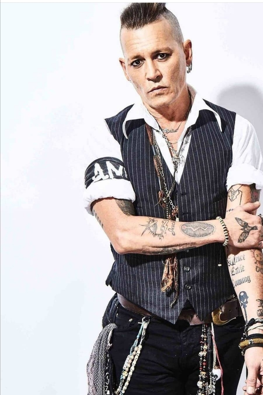 Johnny Depp with a thousand faces turns 58 All you need to know about Johnny Depp Johnny Depp, the literal actor with a thousand faces and one of the biggest movie stars in the world, blew out the 58-year candle on June 9.
