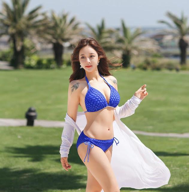 """Ăn đứt Ngọc Trinh, Nữ hoàng nội y Hàn gây ngỡ ngàng với 3 vòng """"căng đét"""" ở tuổi U40"""