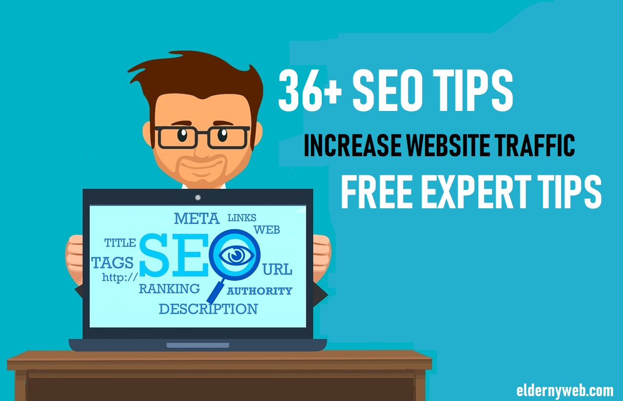 38 SEO Tips For More Organic Views on Website