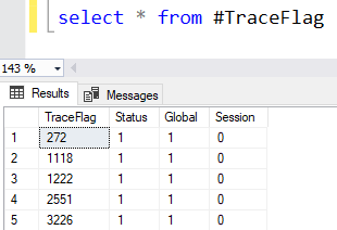 Insert DBCC Results Into Table SQL Server