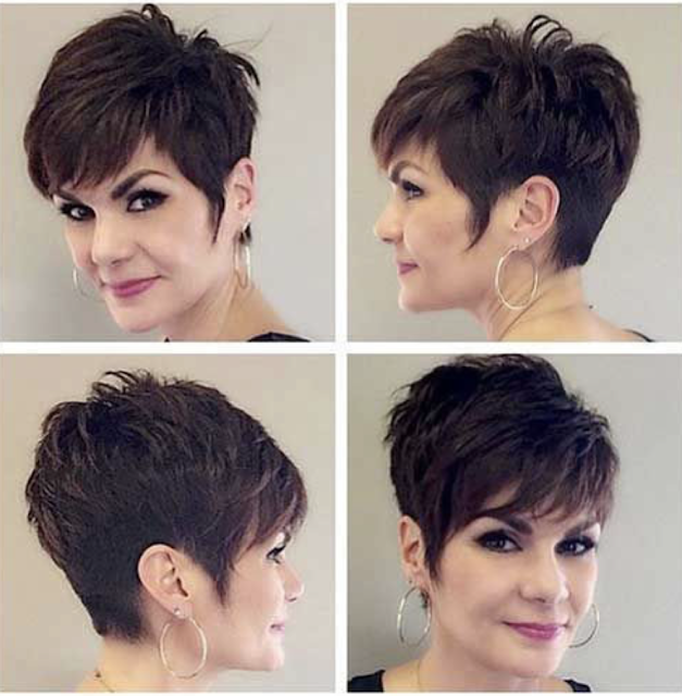 short pixie haircut 2019