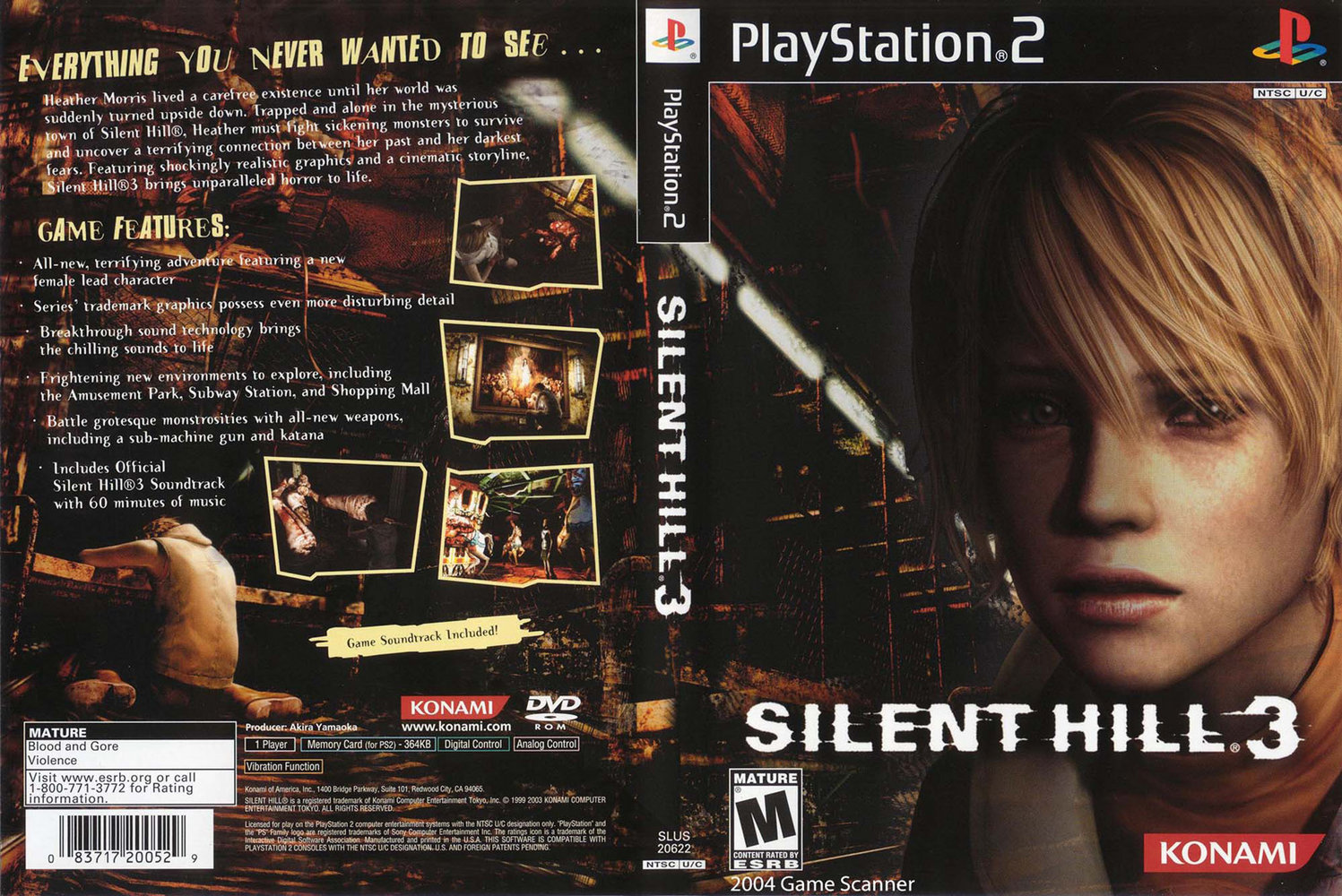 All Computer And Technology Download Game Ps2 Silent Hill 3 Iso