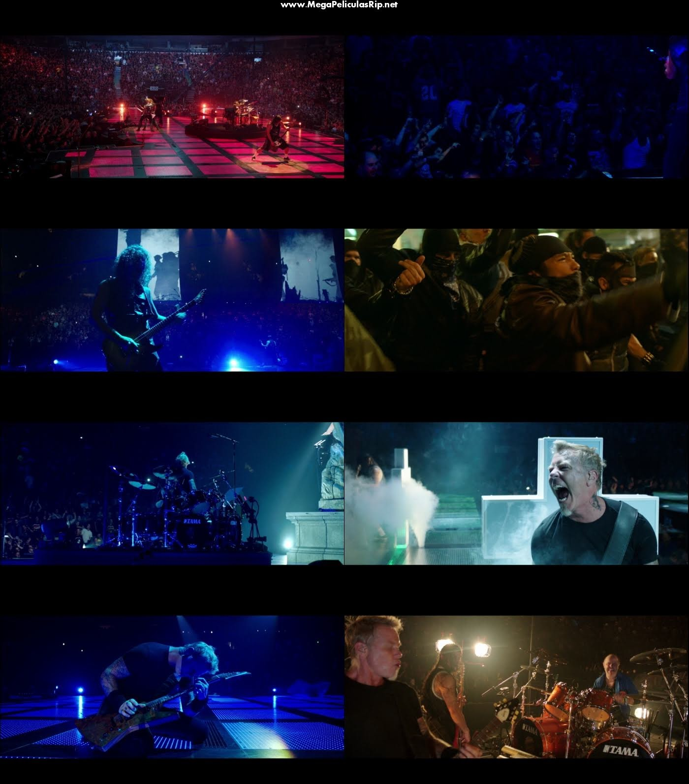 Metallica Through The Never 1080p