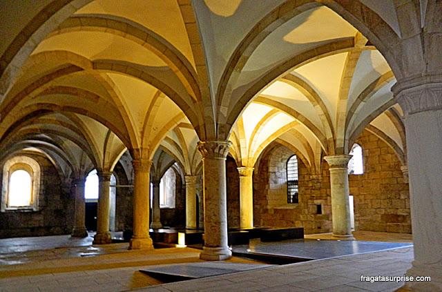 Sala dos Monges, Mosteiro de Alcobaça, Portugal