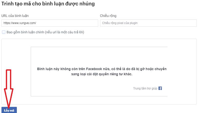 Plugin bình luận Facebook toàn trang web và blog