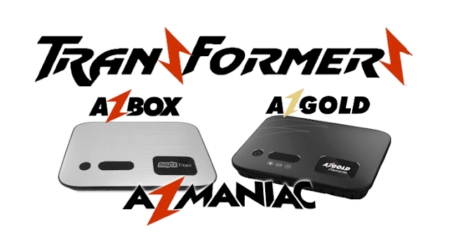 Azbox Titan transformado em azgold Diamante