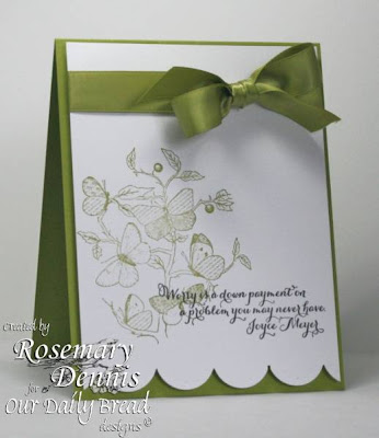 "Our Daily Bread designs ""Faith"", ""Quote Collection 1"" Designer Rosemary Dennis"
