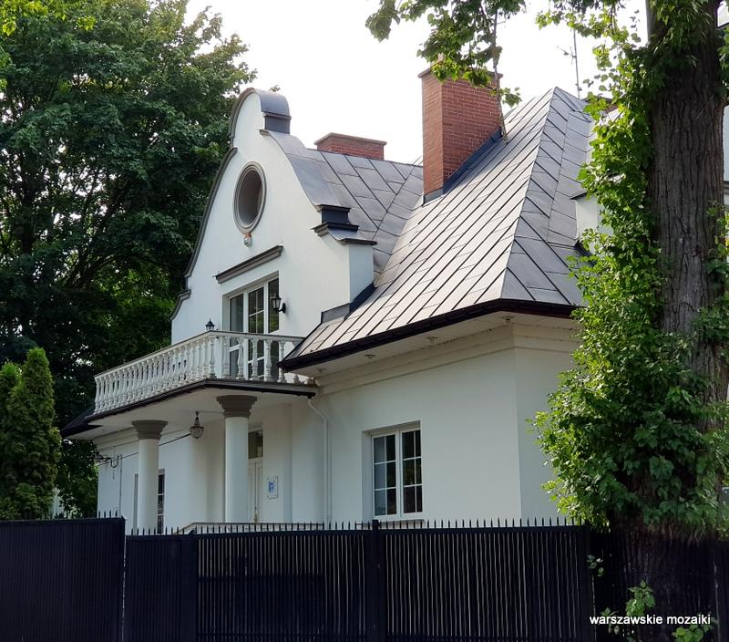 warszawa warsaw młociny miasto ogród willa architektura bielany
