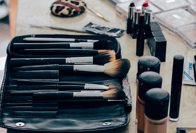 Flatlay Makeup Image