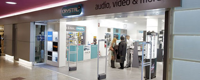 Loja Crystal Media Shop em Madri