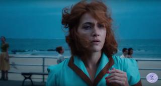 Ginny na plaży w Coney Island