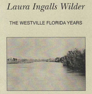 partial cover of booklet about Laura Ingalls Wilder's brief stay in Florida