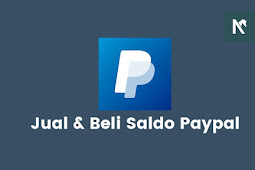 Jual dan Beli Saldo Paypal Rate Tinggi, Harga Murah!