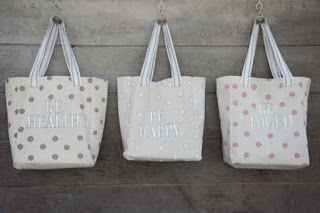 Make DIY Canvas Grocery Bags
