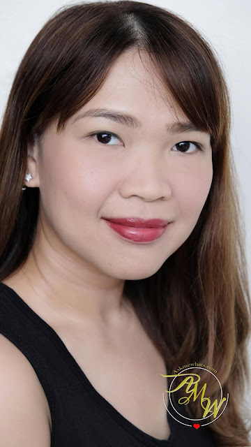 a photo of K-Palette Lasting Matte Liptint Review in shades Rose and Red by Nikki Tiu of askmewhats.com