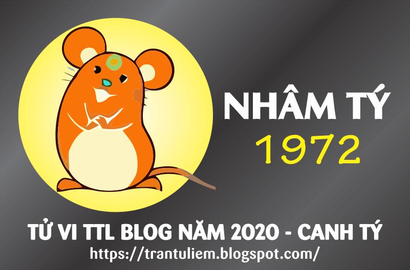 TỬ VI TUỔI NHÂM TÝ 1972 NĂM 2020