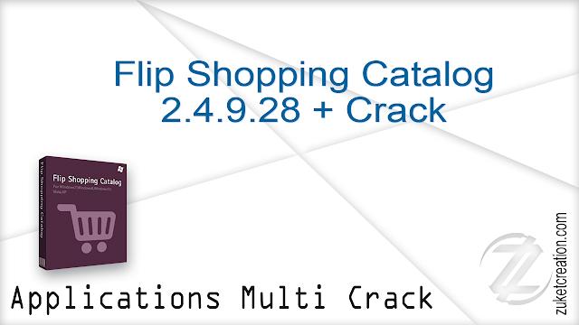 Flip Shopping Catalog 2.4.9.28 + Crack  |  128 MB