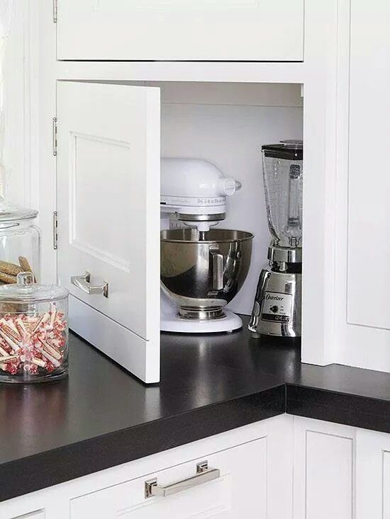 ARREDAMENTO E DINTORNI: una cucina ben organizzata (sfruttare tutti ...