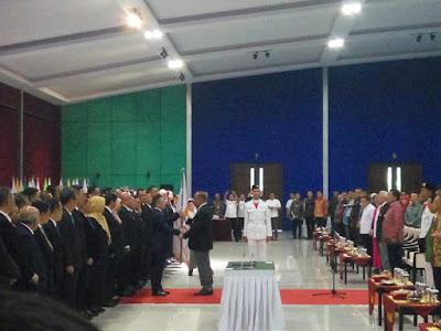 Marciano Norman Lantik Pengurus KONI Lampung Masa Bakti 2019-2023