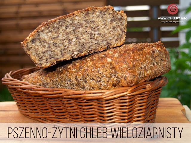 Wieloziarnisty chleb pszenno-żytni