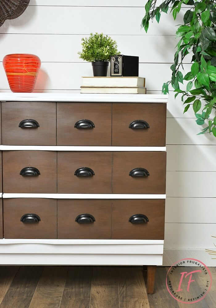 DIY Faux Apothecary Dresser