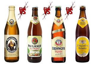 Vs. Cata comparativa de cervezas Weissbier